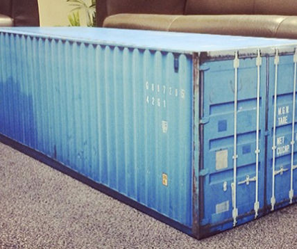 Shipping Container Table